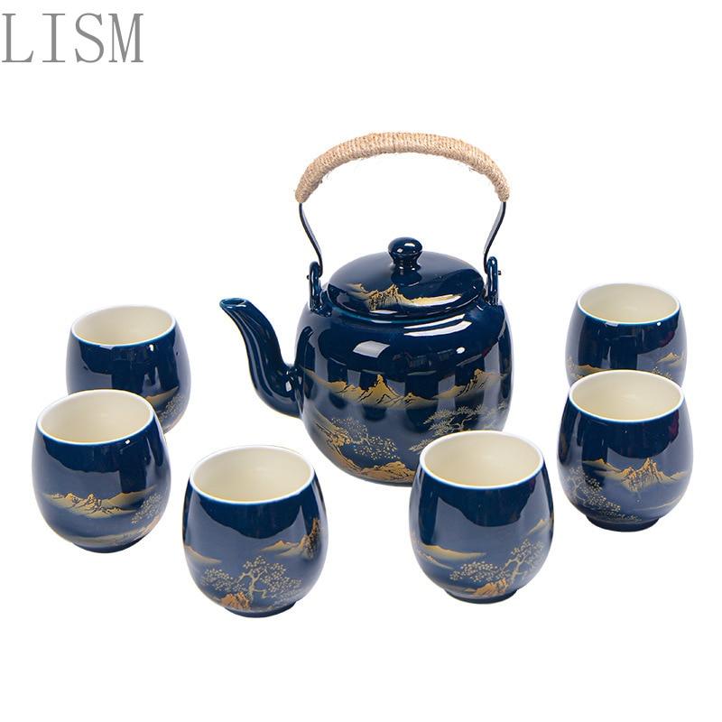 إبريق شاي سيراميك قديم ، غلاية شاي ، هدايا عمل ، بيع مباشر من المصنع