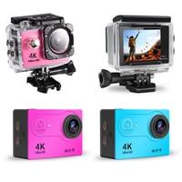 Оригинальная Экшн-камера H9 / H9R Ultra HD 4K/30fps, Wi-Fi, Подводная Водонепроницаемая камера 2,0 дюйма 170D, Спортивная профессиональная уличная камера дл...