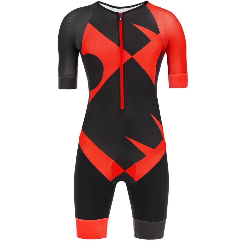 Ciclismo Skinsuit Triathlon Speedsuit Trisuit Tudo Speedsuit Speedsuit Manga Curta Maillot ciclismo Ropa de ciclismo Maillot