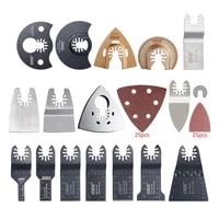 66 pcs multi tool blades oscillating accessory kit mixed multitool saw blades for grinding sanding and cutting