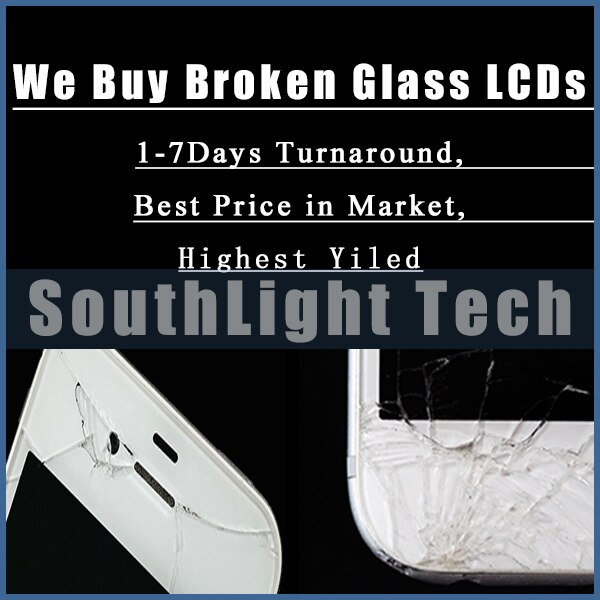De recompra de Restaurar servicio para iPhone X XR Xs Max Samsung S7 borde S8 S9 S10 Plus Nota 8 9 10 A70 LCD roto cambio de pantalla de cristal