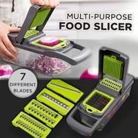 multi purpose food slicer cutter shredder grater peeler for fruits vegetable potato salad