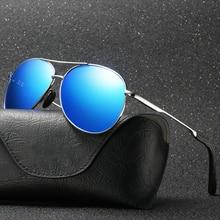 High End Quality Pilot Men Women Shades Glasses Aviation Sunglasses Alloy Polarized UV400 Driving Su