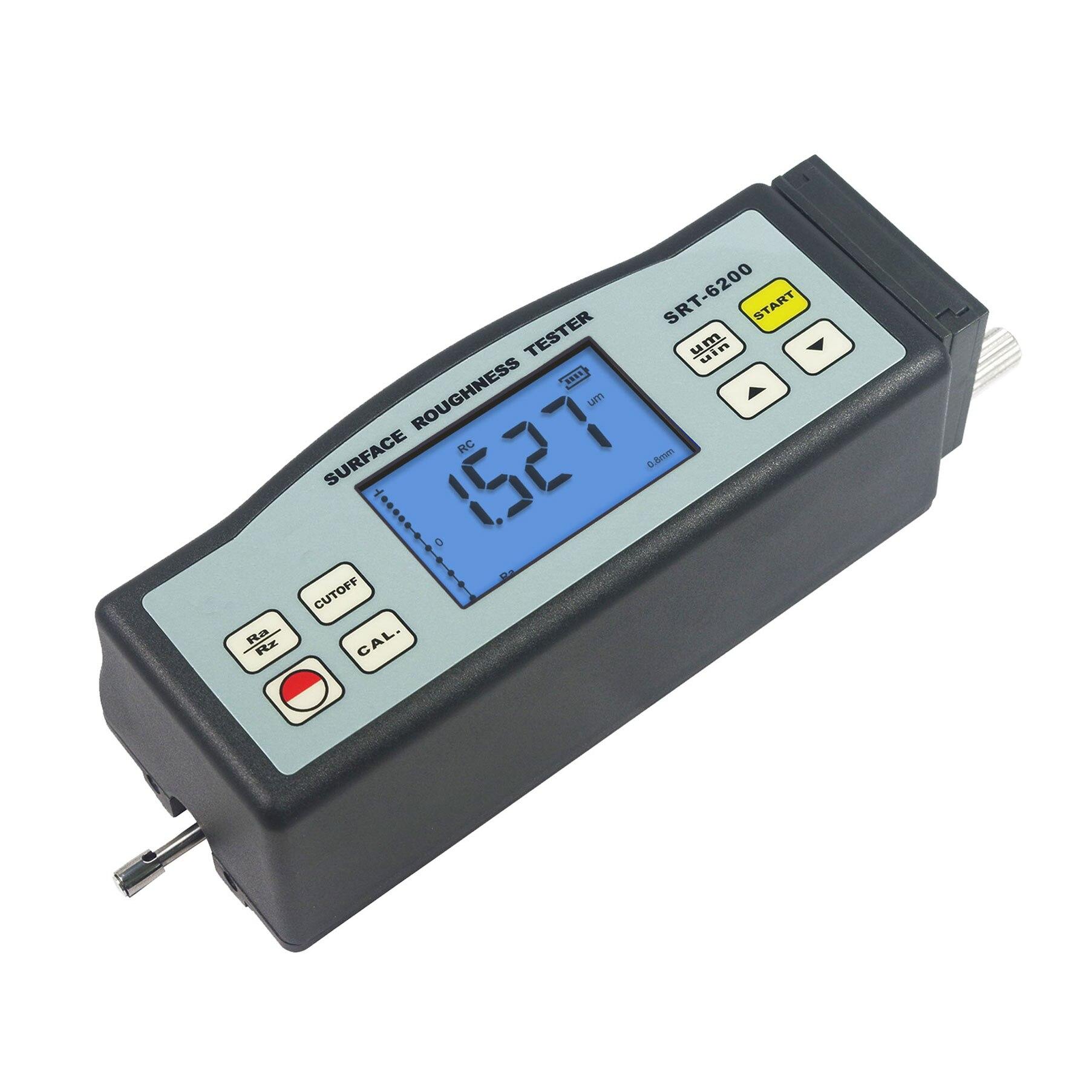 SRT-6200 أداة قياس خشونة الأسطح الرقمية الجديدة المحمولة اختبار خشونة مع جهاز استشعار الحث متطورة للغاية