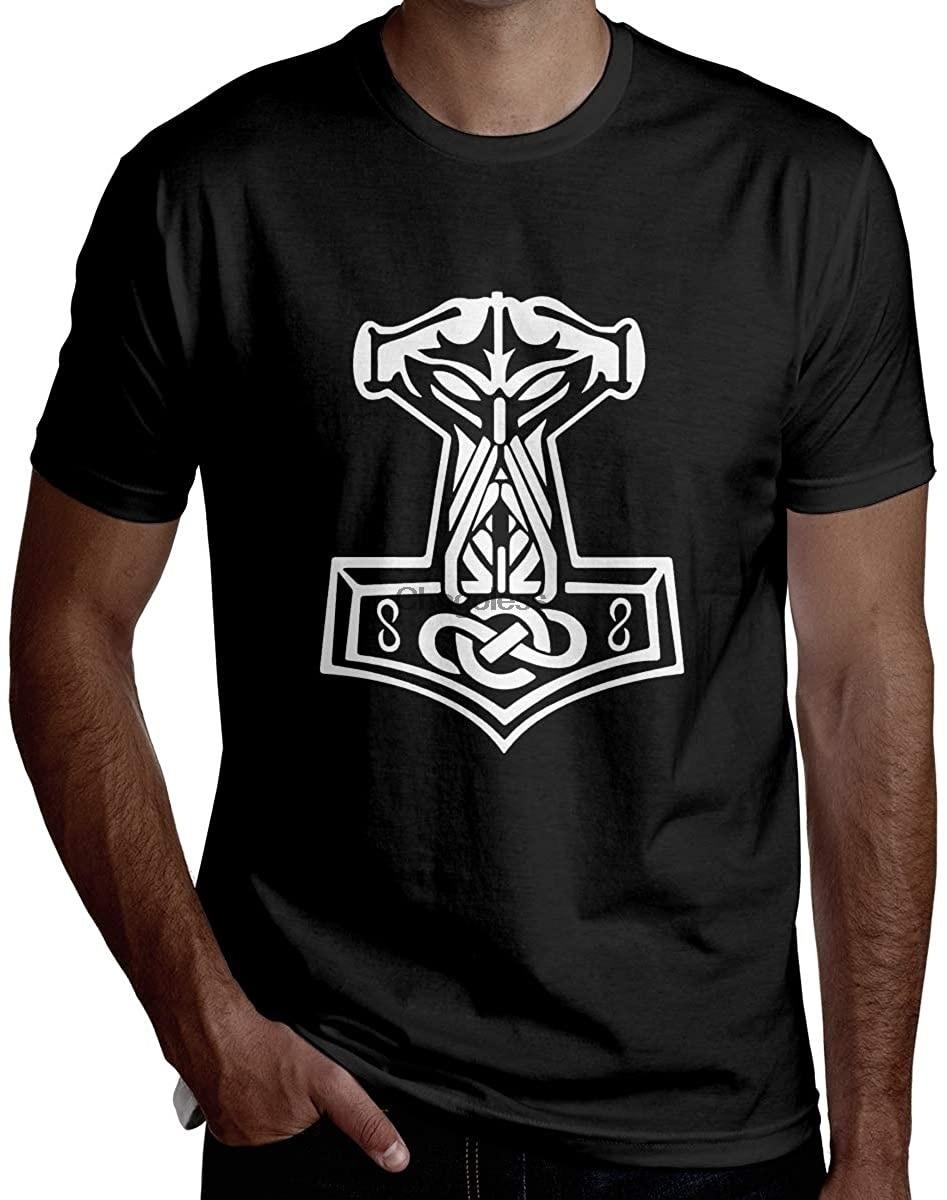 Camiseta de manga corta para hombre de ropa interior de moda... vikingo...