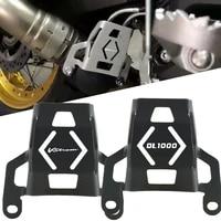 motorcycle accessories cnc exhaust valve guard caps for suzuki dl1000 v strom v strom dl 1000 2015 2015 2016 2017 2018 2019 2020