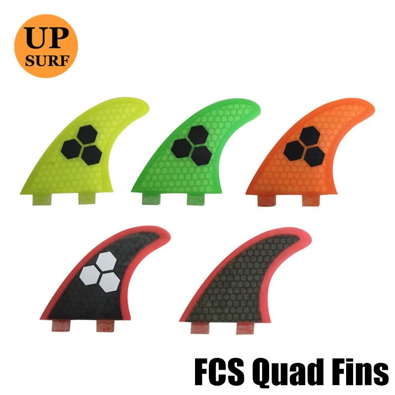 FCS Surfboard Fins Quad G5+K2.1 Fiberglass HoneyComb FCS Surf fin upsurf