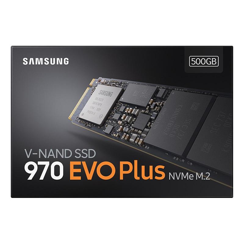 Samsung ssd 970 evo plus m.2 2280 ssd interno de estado sólido disco rígido ssd 250gb 500gb 1tb pcie 3.0x4 nvme 1.3 computador portátil
