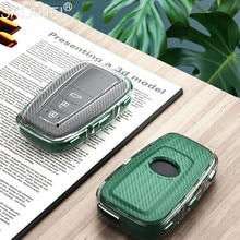Hoge Kwaliteit Nieuwe Soft Tpu Auto Key Case Cover Voor Toyota Camry Prado 2017 2018 C-HR Chr Prius Corolla Rav 4 Sleutel Shell Accessoires