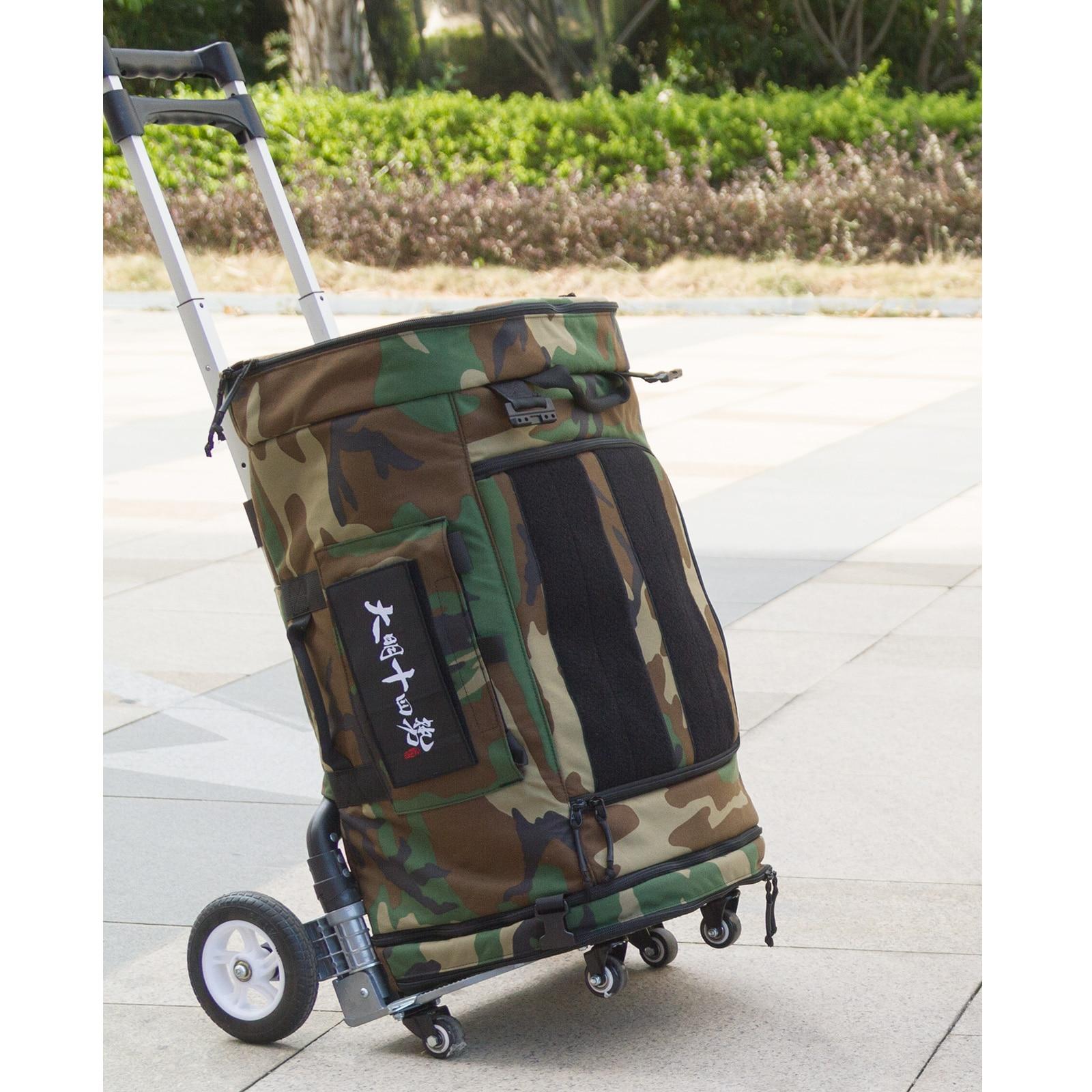 MING-14 Large Capacity Multifunction Equipment Backpack Tactical Shoulder Bag Handbag - Jungle Color