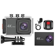 K90 4K/60Fps 20MP Ultra HD 4K Action Camera Sport WiFi Sn Voice Control EIS 40M Waterproof Camera