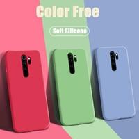 Чехол карамельного цвета для Xiaomi Redmi Note 7 8 9 10 Note10 Pro 10T 9T 8T 10S 9S 5 Plus 6 4X 4 6A 4A 9A 9AT 9C NFC, мягкий силиконовый чехол