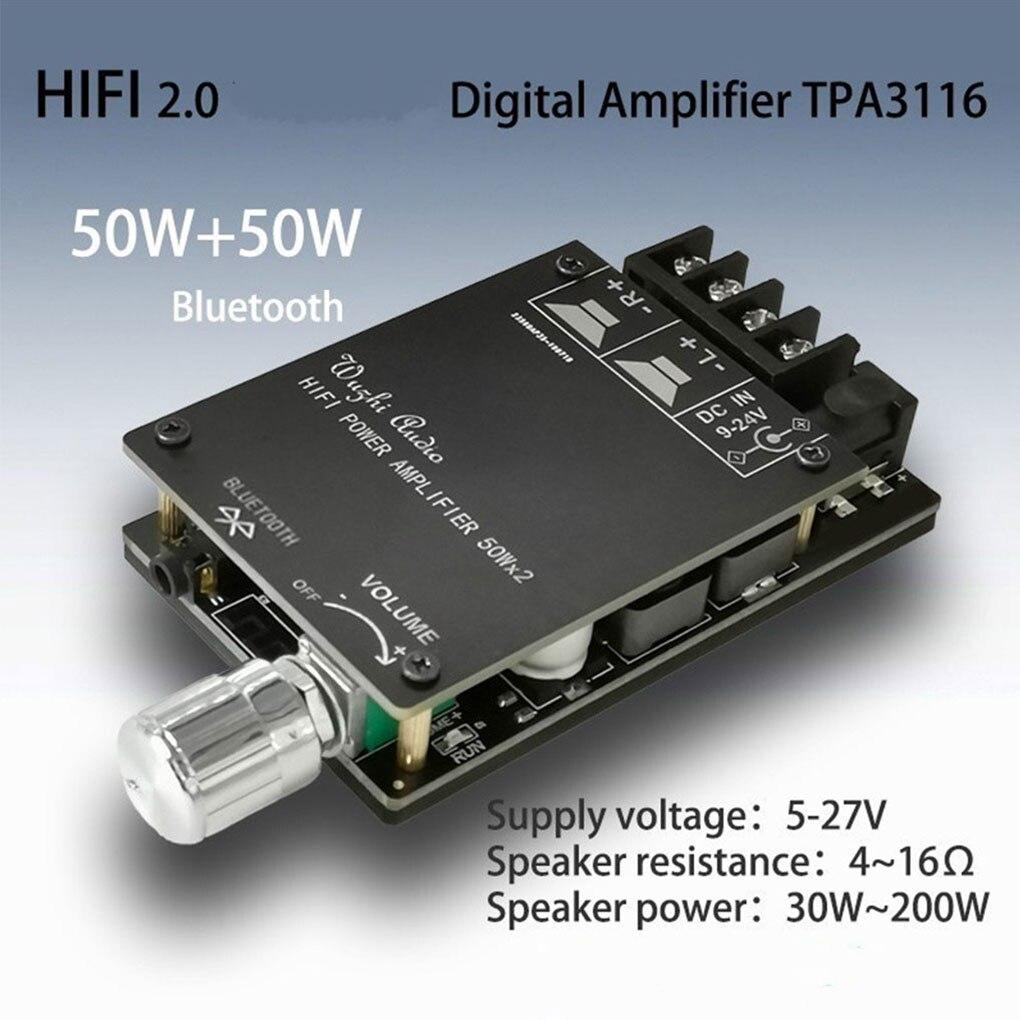 Mini Bluetooth 5,0 inalámbrico Digital Audio Amplificador de potencia circuito estéreo Placa...