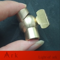 DIY brass Universal 180 Degree Steering copper cardan joint rod connector screw M10 hollow screw teeth Lamp Accessories