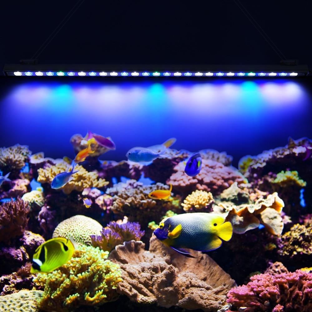 54W 81W 108W Led Aquarium Light Aquarium Light for Fish Plants Coral Reef Fish Tank Lights Aquarium Lamp Home Lighting Aquarium saltwater resistant 5w led aquarium fish tank clamp clip lamp lighting with full spectrum for coral reef spot light e27 lamp