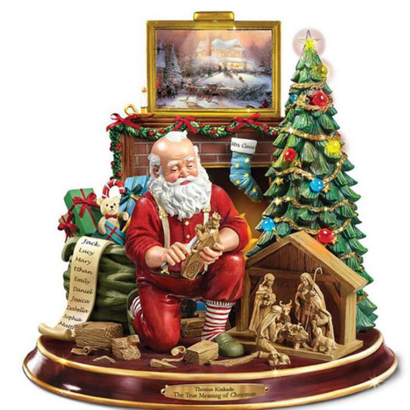 Christmas Window Decorations Double Sided Christmas Window Stickers Xmas Holiday Snowflake Santa Claus xmas Tree Window Stickers