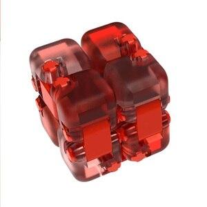 Image 5 - Цветной Спиннер Xiaomi Mijia Mitu, строительные блоки, игрушка головоломка для снятия давления, сборка кубика, игрушка Спиннер для пальцев