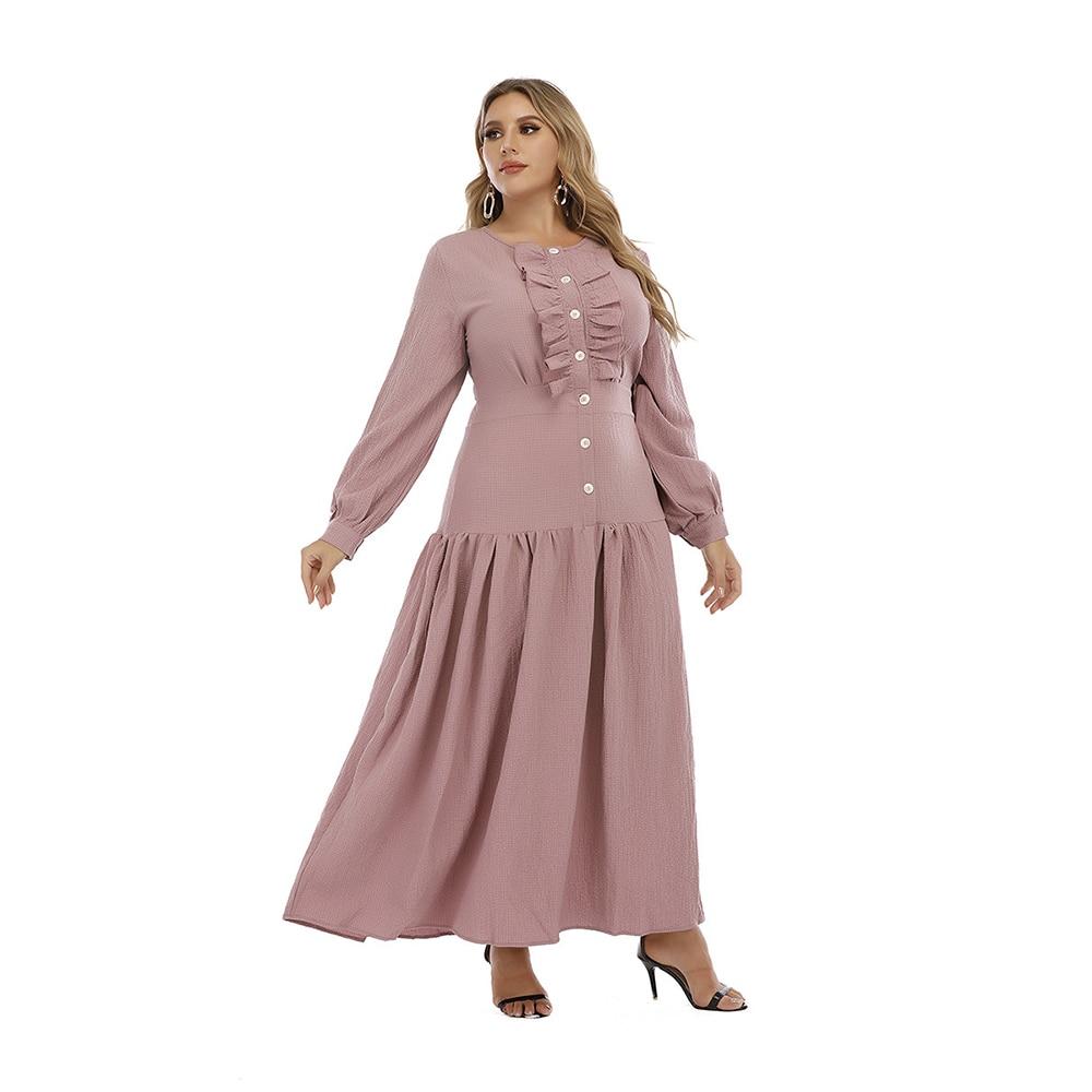 Фото - Женское длинное платье Eid Abaya, длинное мусульманское платье, женская элегантная одежда lemaire длинное платье