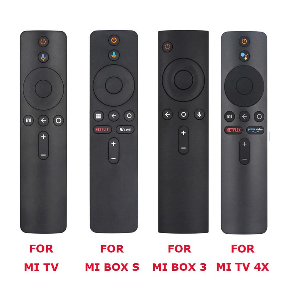 For Xiaomi Mi TV, Box S, BOX 3, MI TV 4X Voice Bluetooth Remote Control with the Google Assistant Control