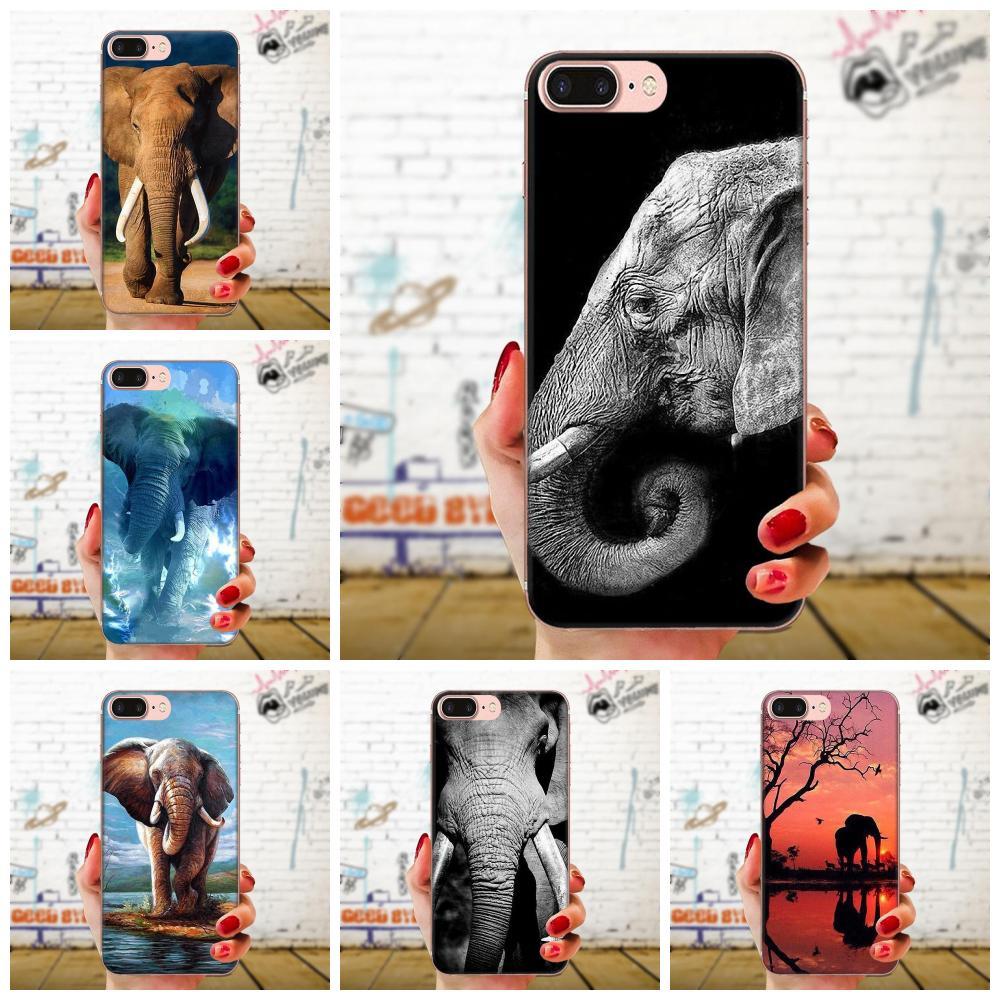 Para LG G2 G3 G4 G5 G6 G7 K4 K7 K8 K10 K12 K40 Mini Plus ThinQ 2016 de 2017 de lujo 2018 funda de teléfono Vertical Elephant2