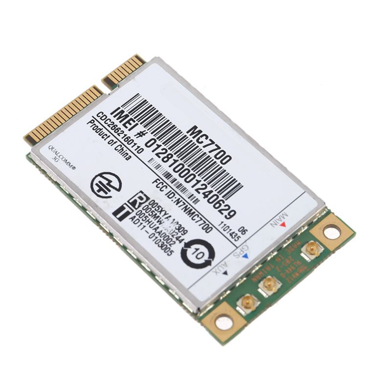 Mini PCI-E 3G/4G WWAN GPS Module MC7700 PCI Express 3G HSPA LTE Wireless Card