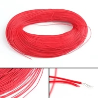 Ul1007 20awg Cable Stranded Flexible Hookup Wire Cord Electric Line Red 3 5m Earphpne Audio Stereo Adapter Cable Connector