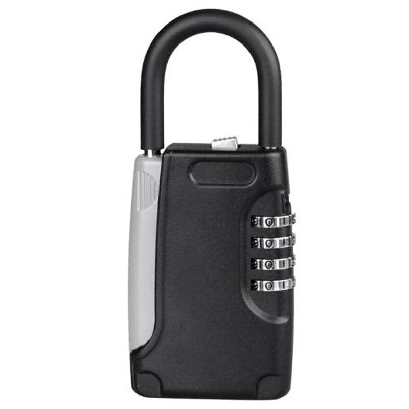 Caixa de armazenamento de chave mecânica de metal caixa de gancho de metal tipo de senha chave caixa de chave segura