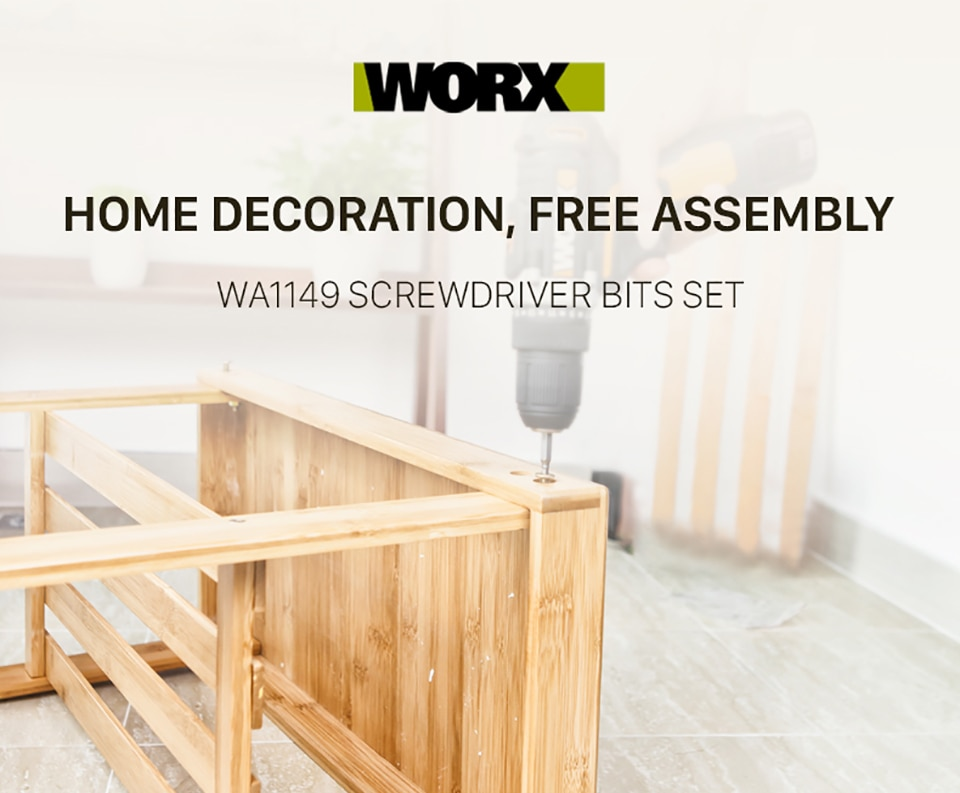 WORX WA1149 Screwdriver Bis Set