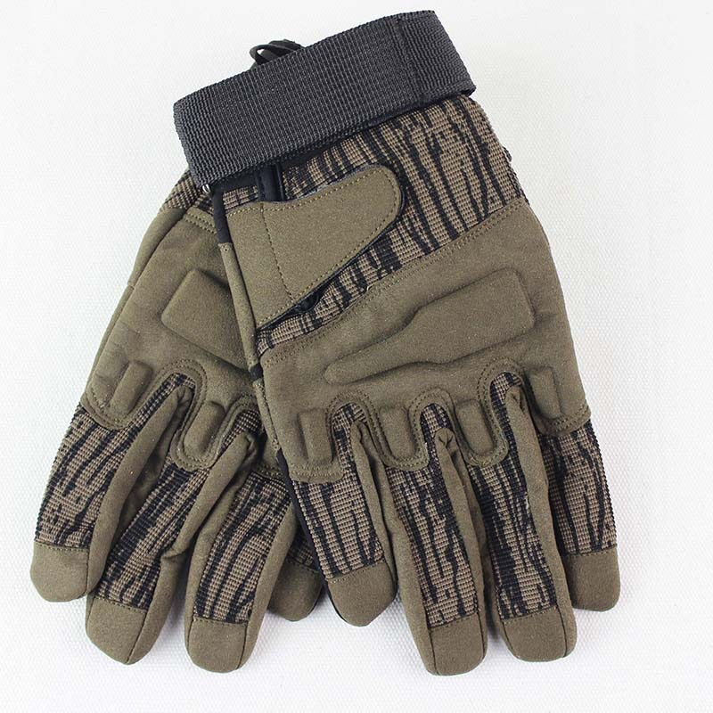 C11 All Fingered Tactical Gloves Cycling Sports Mountaineering Fitness Antiskid Protection enlarge