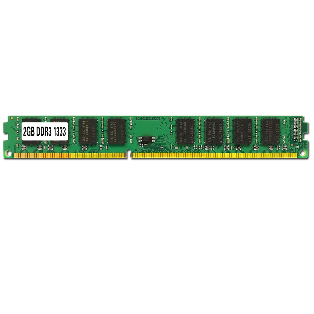 2GB 4GB 8GB PC3-10600 DDR DDR2 DDR3 1333MHZ Desktop PC Memory Module Computer Desktop DDR3 RAM Compatible With Multiple Systems