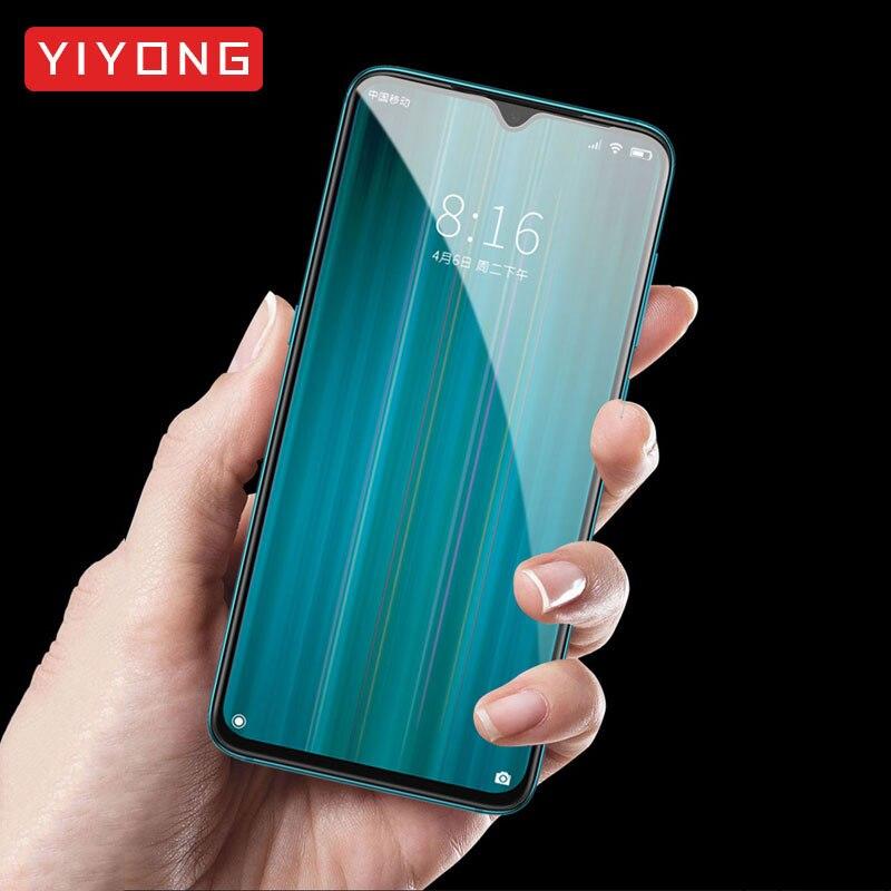 Redmi nota 5 6 7 8 pro vidro de cobertura completa yiyong 9d vidro temperado para xiaomi redmi nota 8 7 6 5 4 protetor de tela redmi nota 7 8