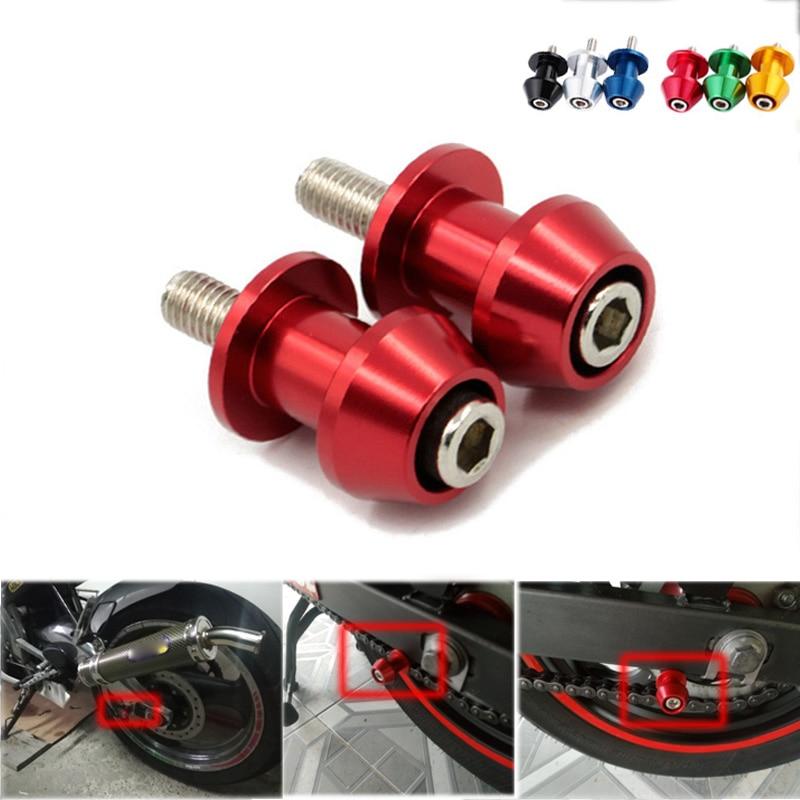8mm Basculante bobinas deslizantes Swing tornillo está para Honda CBR 600 954 RR Suzuki GSXR 600 K 5 750 1000 K1 K2 K3 K4 K5 K6 K7 K8 K9 K10