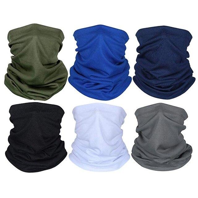 Camping Hiking Scarves Cycling Sports Bandana Outdoor Headscarves Riding Headwear Men Women Scarf Neck Tube Magic Scarf