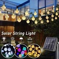 3 v solar light string led 8 modes ip65 waterproof 203050pcs bulbs outdoor indoor garland rgb party bbq night string light