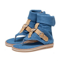 Retro ladies new sandals gladiator home shoes ladies flip flops casual shoes Rome fashion summer wom