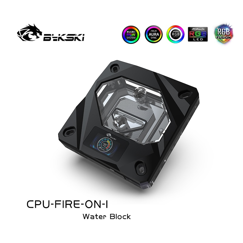Bykski CPU Block Temperature Digital Display Water Block For Inter Cpu, Intelligent Temperature Monitoring intelligent partial discharge diagnosis for condition monitoring