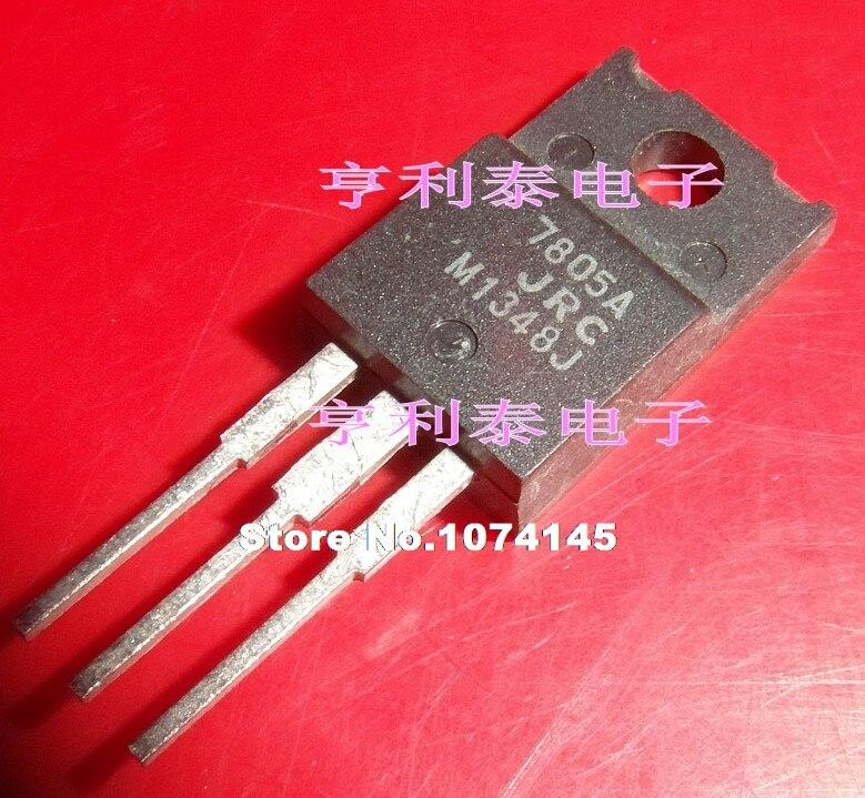 5p lot mr4020 to 220f 7 10pcs/lot  NJM7805FA 7805A TO-220F JRC5V