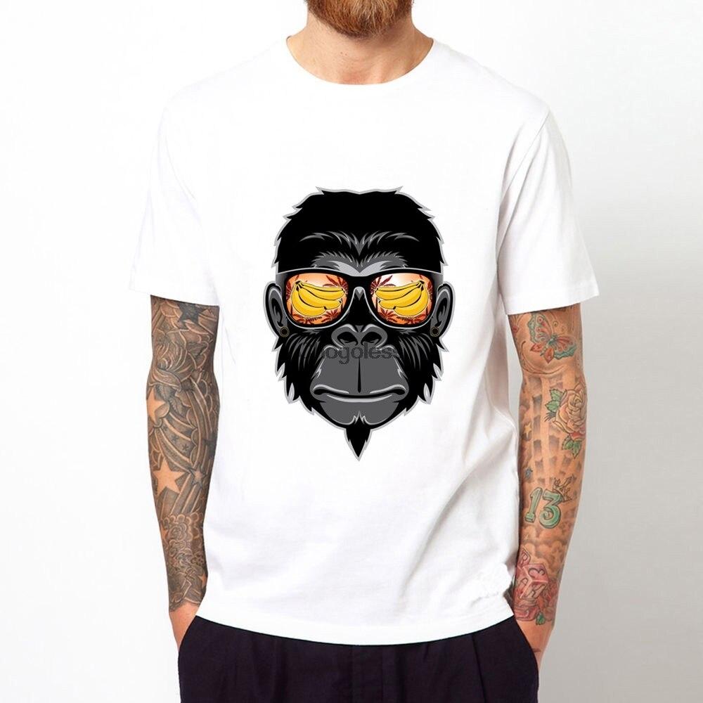 De los hombres de la moda Tops mono impreso pantalón corto Casual...