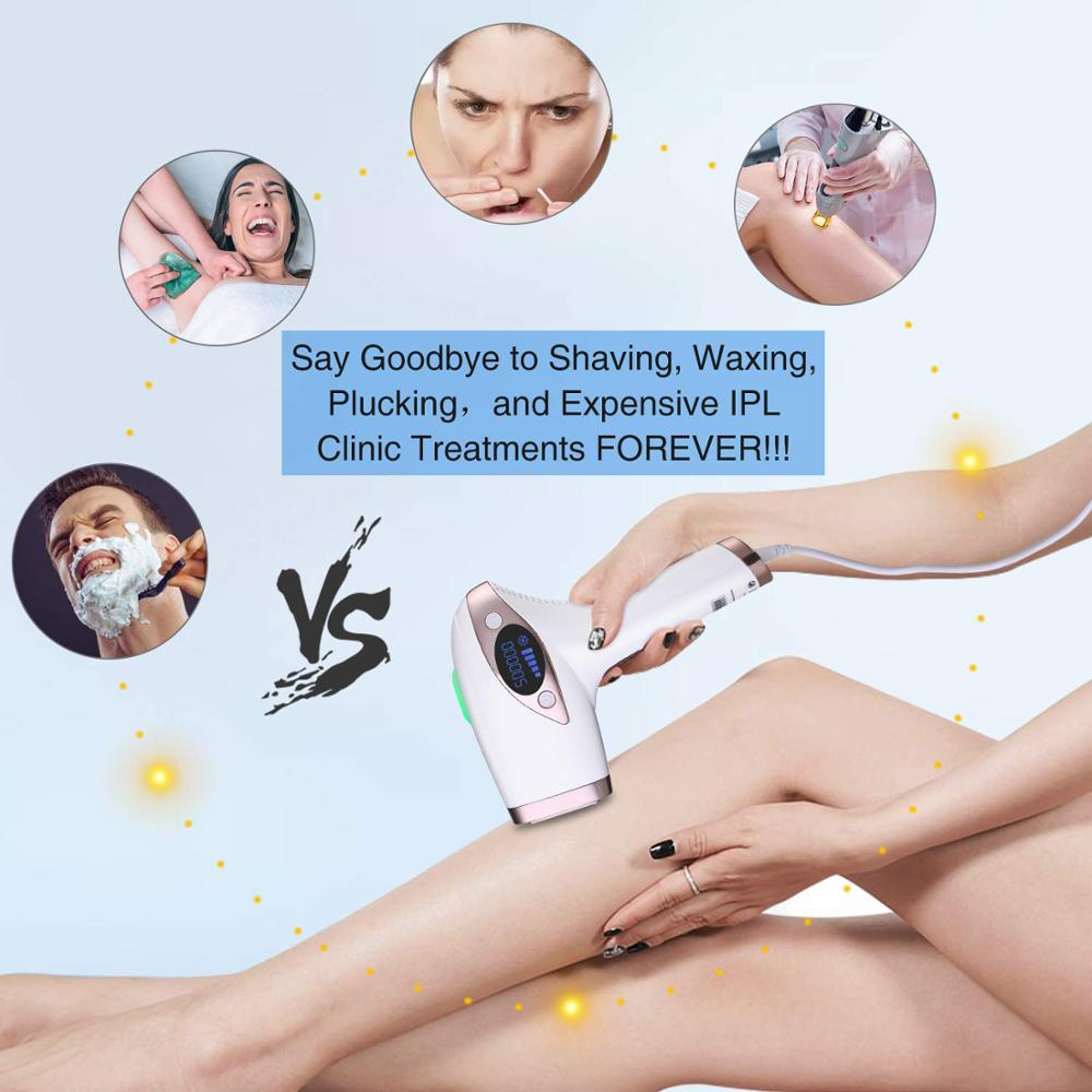 Mlay laser T4 Laser hair removal device Laser hair removal ICE Cold IPL Epilation Flashes 500000 mlay ipl hair removal painless enlarge