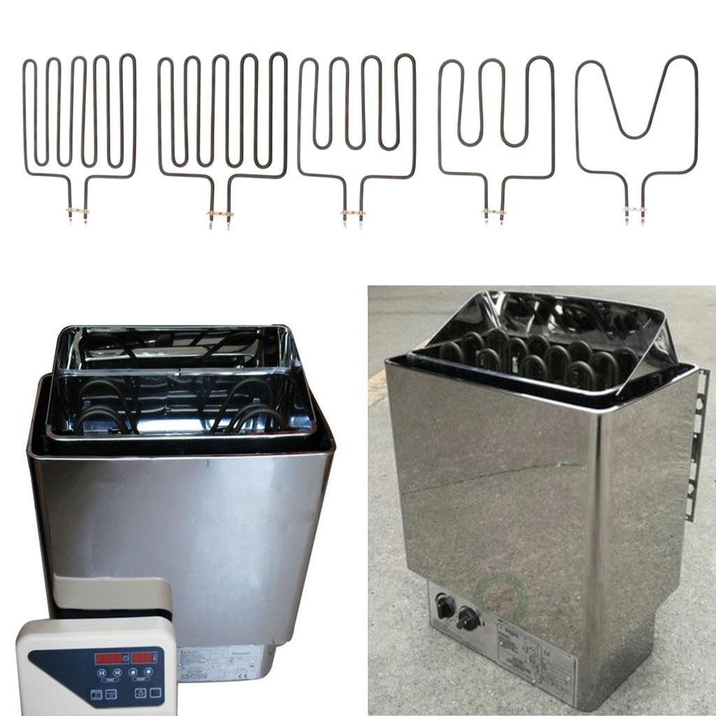 Электрический трубчатый элемент для сауны, печь для сауны, 1000 Вт/1500 Вт/2000 Вт/2670 Вт/3000 Вт