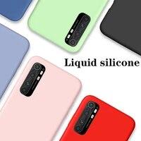 solid color liquid case for xiaomi mi note 10 lite case xiaomi mi note 10 10t lite mi11 candy phone case for xiaomi mi 10t pro