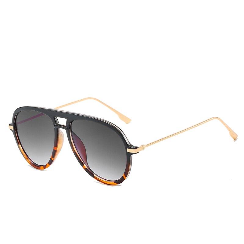 Gafas de sol de moda clásicas de diseño de marca, gafas de sol con gradiente para hombre y mujer, gafas de sol UV400, gafas de sol