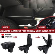 Voiture Boîte Daccoudoir Pour Nissan Juke 2010 2011 2012 2013 2014 2015 Center Boîte de Conteneur de Stockage avec Ports USB