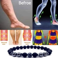 magnet anklet colorful stone eight loss magnetic therapy bracelet weight loss product slimming health care jewelry