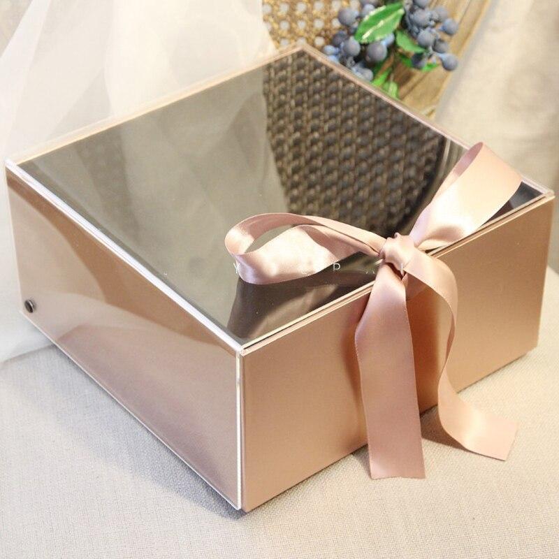Coffret acrylique élégant 1 pièce   Coffret cadeau pour demoiselle dhonneur du marié ou du marié, boîtes à cadeaux pour fête de poule et anniversaire