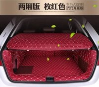 dedicated full surrounded no odor waterproof carpets with storage bagseparator mat non slip special car trunk mats for audia3