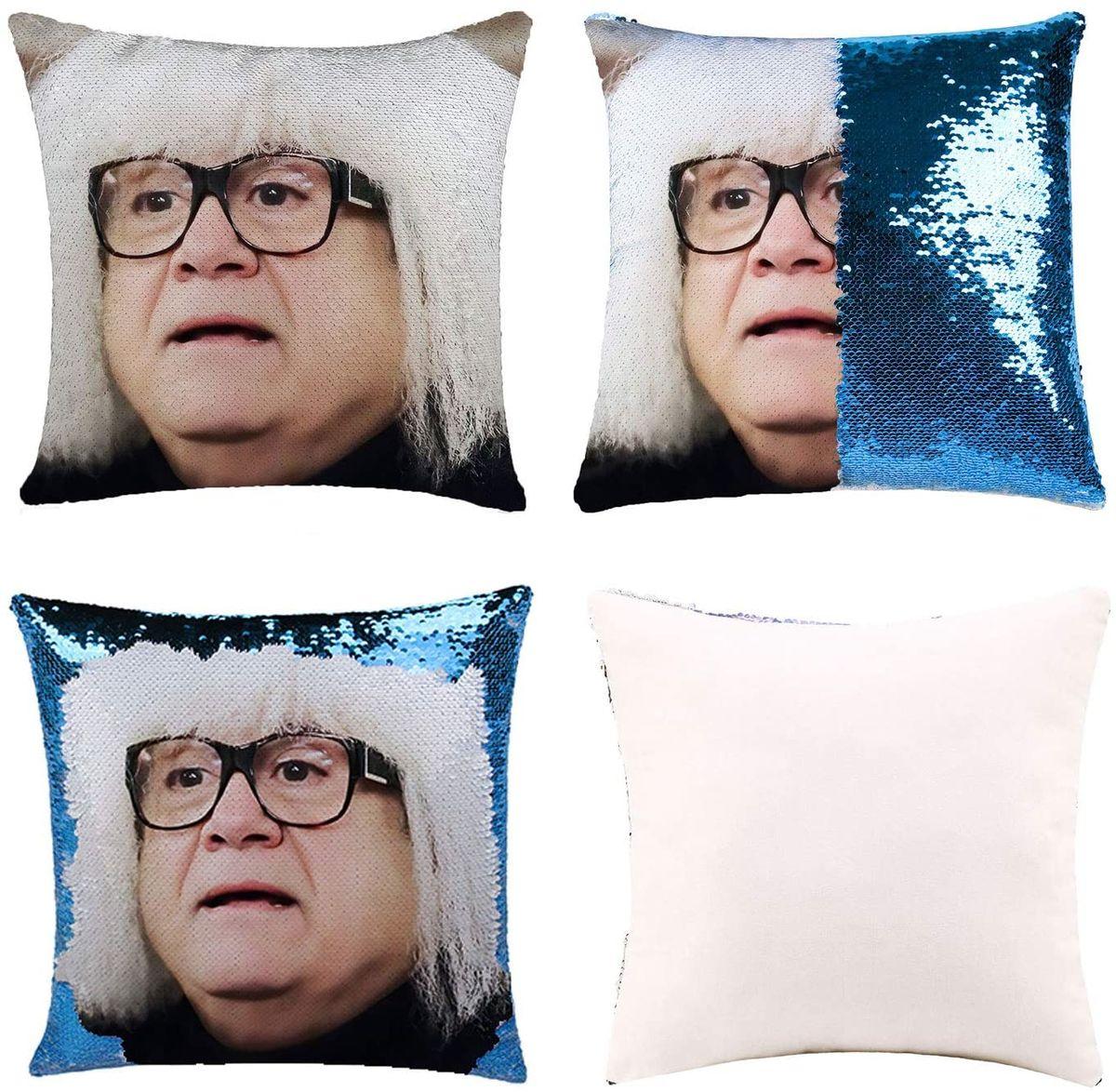Веселые DIY подушки с блестками, чехол для телефона, волшебные двусторонние Чехлы для подушки, декоративные наволочки с изменением цвета