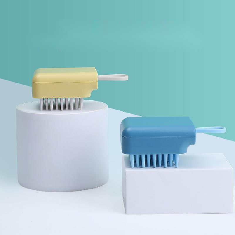 Pet Bath Brush Cat And Dog Massage Brush Convenient Bath Brush Cleaning Supplies Beauty