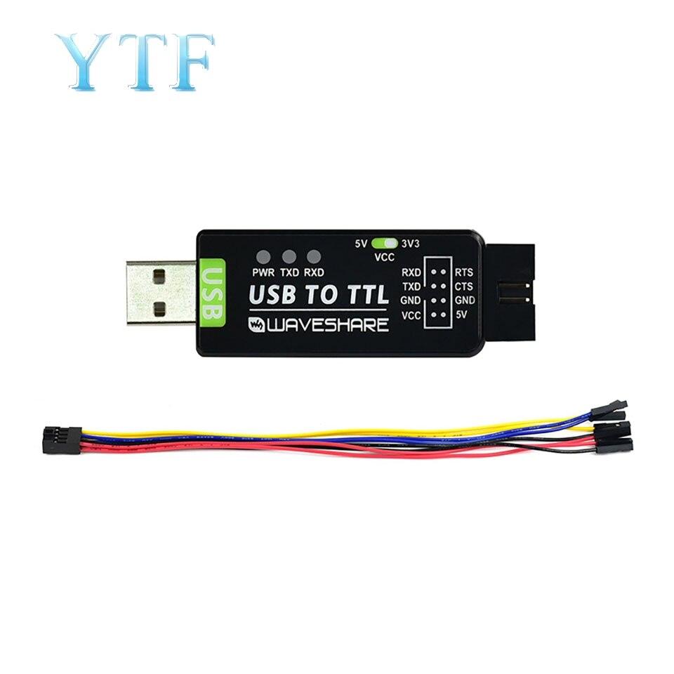 Ft232 industrial-grau ua módulo de porta serial usb ao conversor ft232rl original