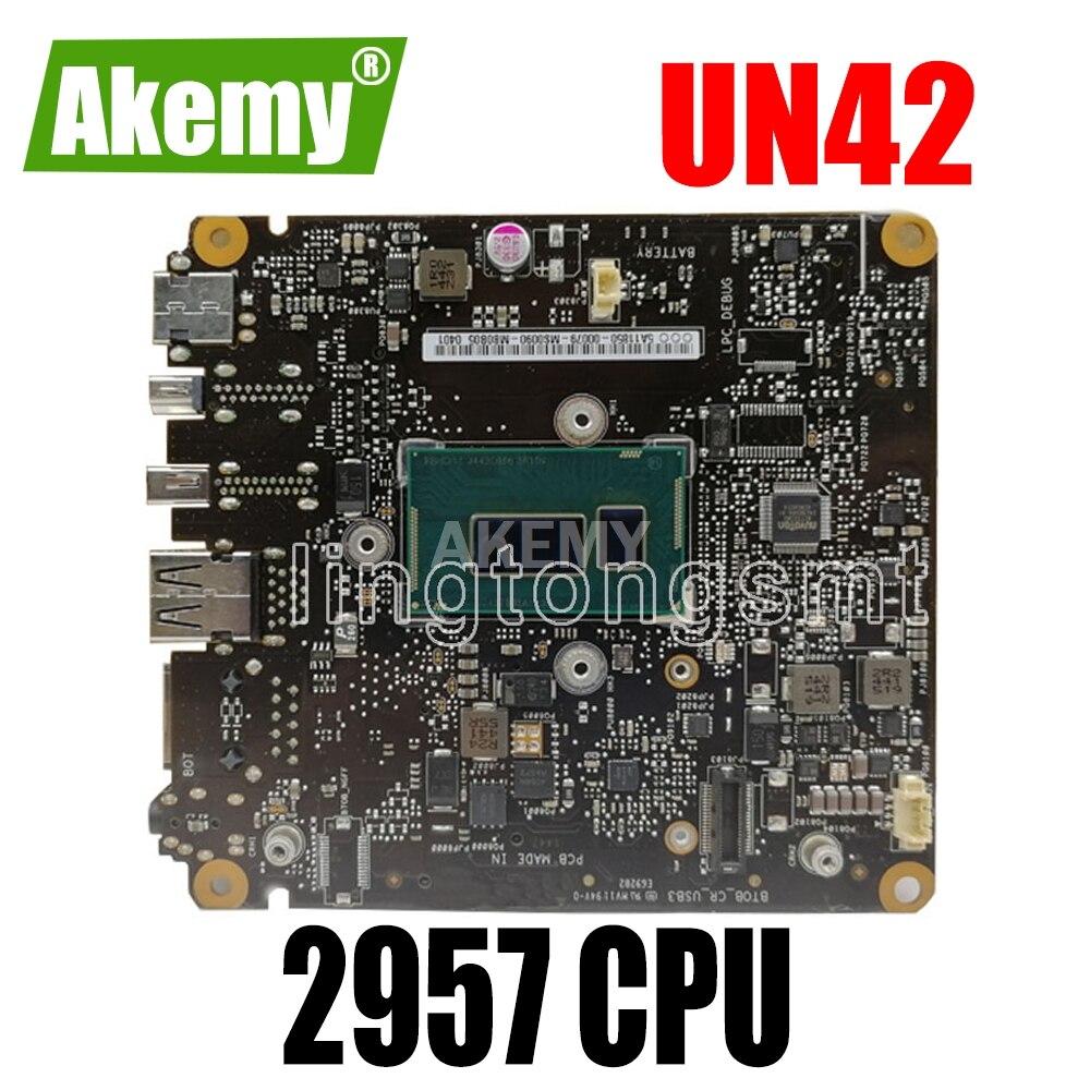UN42 اللوحة الرئيسية 2957 CPU HM70 لأجهزة الكمبيوتر المحمول For For For For AsusUN42 اللوحة الرئيسية UN42 اللوحة الرئيسية UN42 اختبار 100% OK